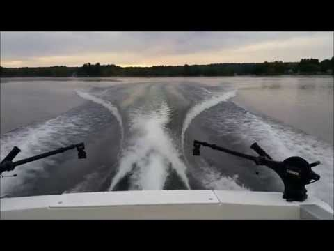 Fishing For Landlocked Salmon On Sebago Lake In The Great State Of Maine
