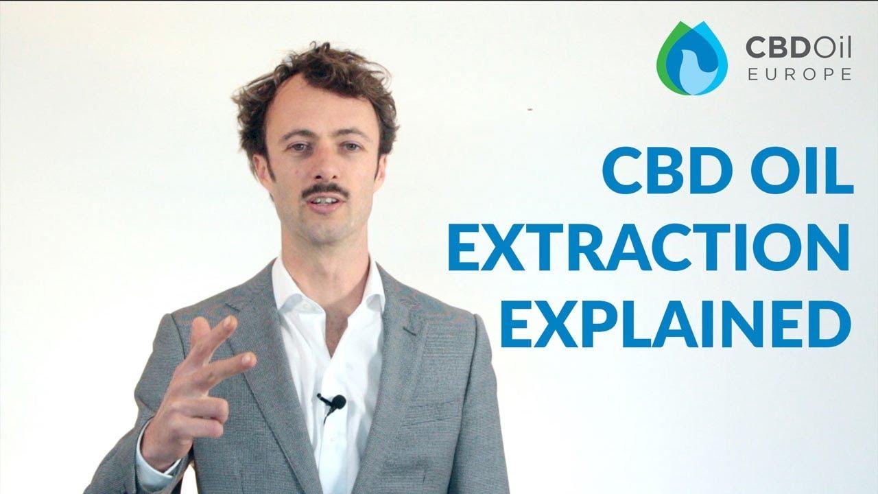 CBD Extraction Methods - CBD Oil Europe