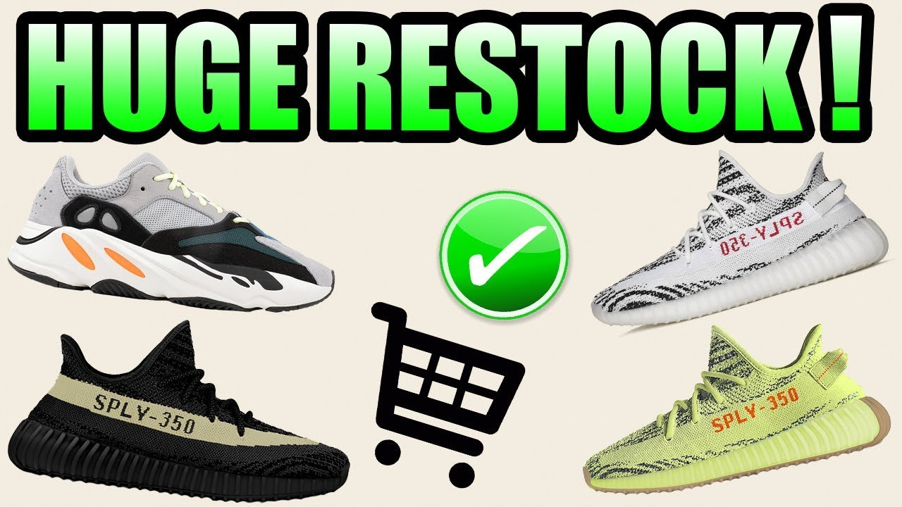 20d1c2d4f Huge YEEZY RESTOCK Coming FALL 2018 !