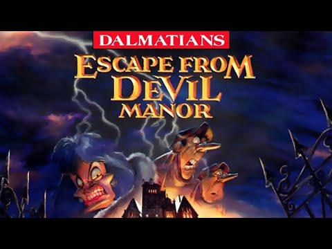 101 Dalmatians: Escape from DeVil Manor - Full Gameplay/Walkthrough (Longplay)