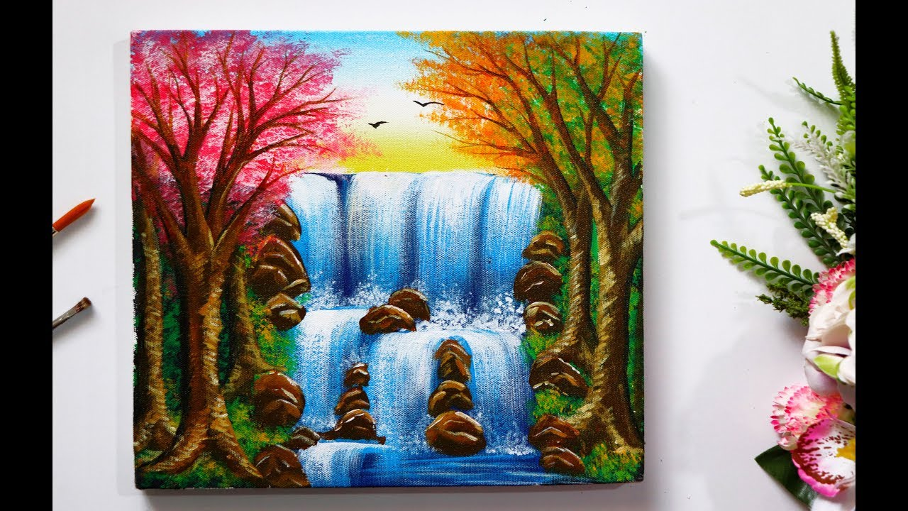 Draw And Easy Simple Waterfalls