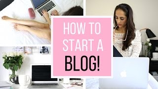 HOW TO START A BLOG | WEBSITE HACKS!