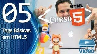 Curso de HTML5 - 05 - Tags Básicas em HTML5 - By Gustavo Guanabara