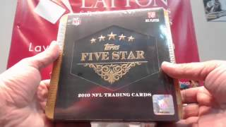 2014 Leaf Best of Football Unopened Box Break for Catherine