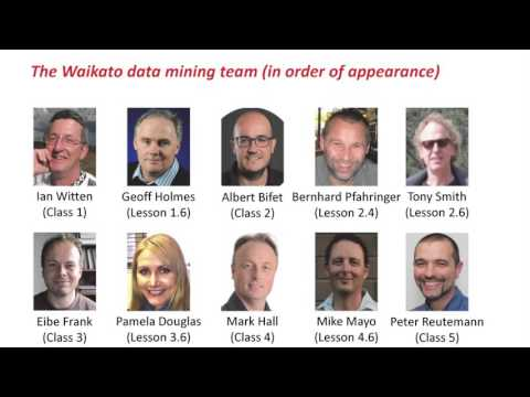 Advanced Data Mining With Weka (1.1: Introduction)
