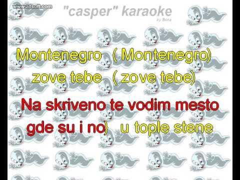 Bajaga - Montenegro ** CASPER KARAOKE **