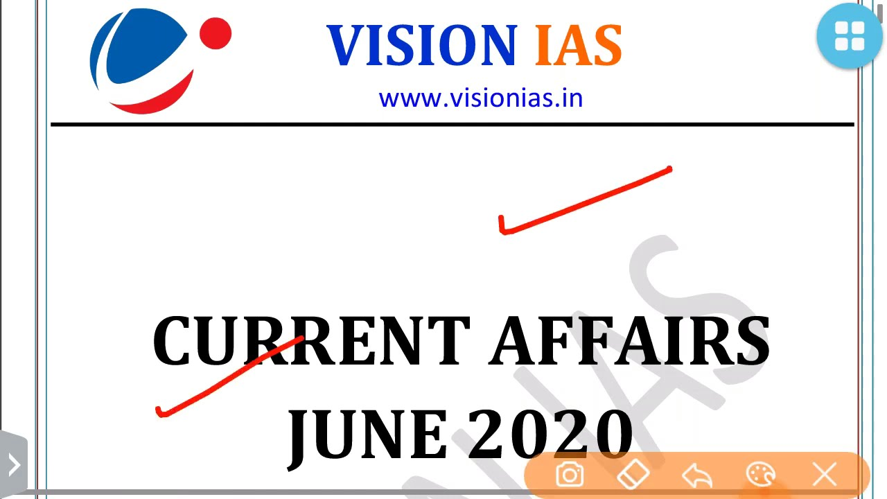 VISION IAS-SOCIAL ISSUES PART 2-JUNE CURRENT AFFAIRS 2020:UPSC/STATE_PSC/SSC
