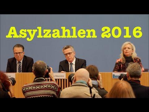 Vorstellung Asylzahlen 2016: Thomas de Maizière & Frank-Jürgen Weise - BPK vom 11. Januar 2016