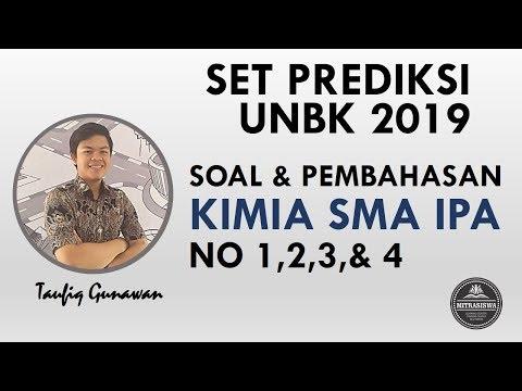 Siap UNBK 2019 I Pembahasan Soal Kimia SMA I Nomor 1,2,3,& 4