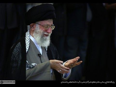 Ayatullah Khamenei leading Eid prayers - Namaz at Tehran University August 2013