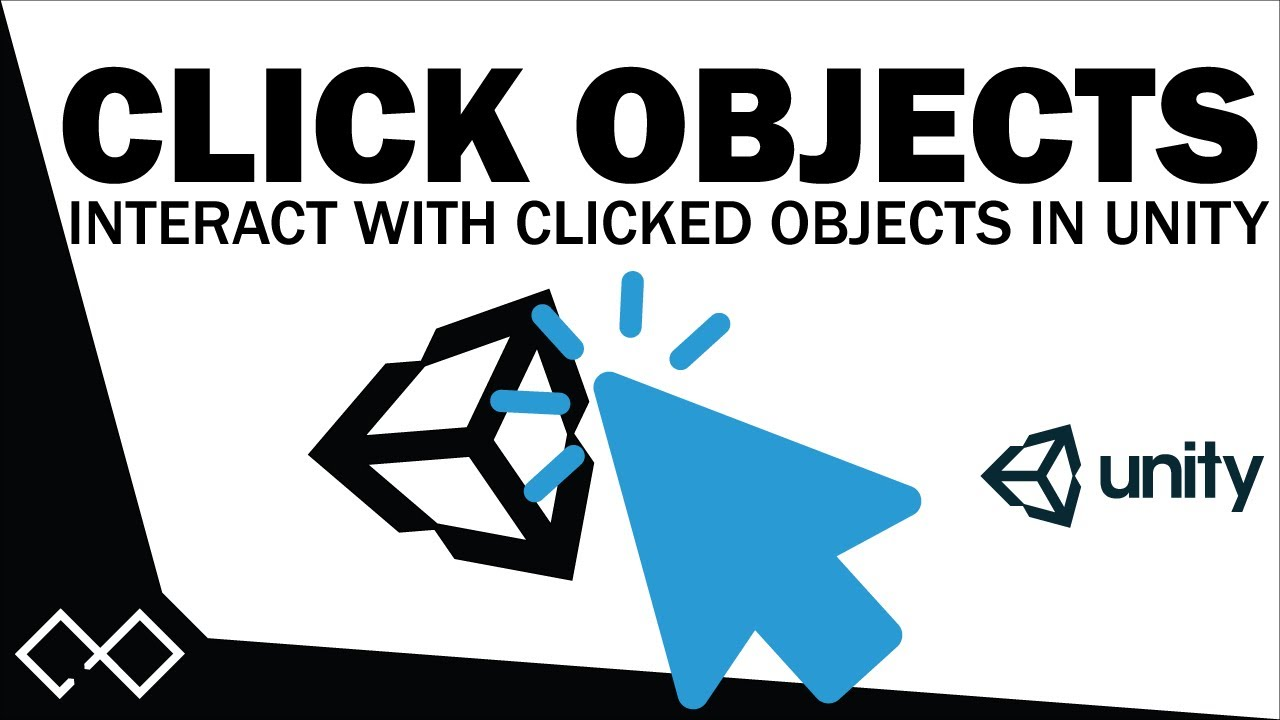 Click Objects In Unity - How To Click Objects in Unity 5  0860b1a84