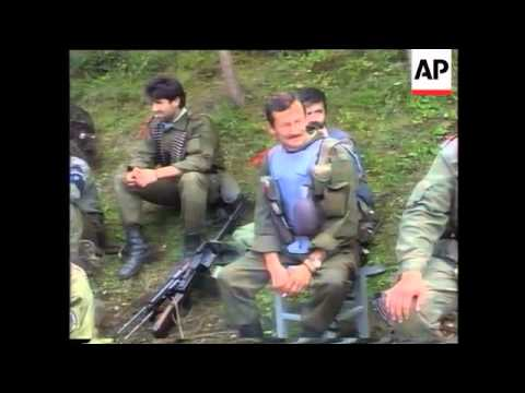Bosnia - Srebrenica Attacked/Refugees/Soldiers
