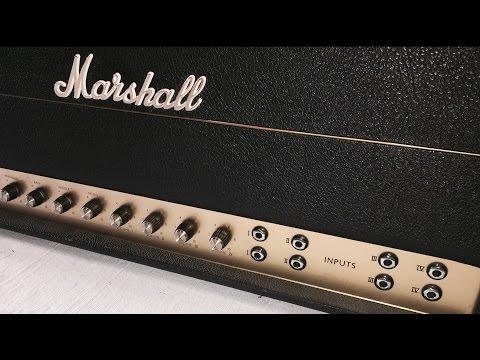 '68 Marshall Plexi Super PA - Demo and Circuit