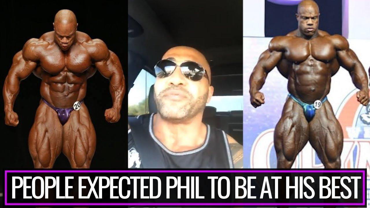 If Phil Heath Fi His Gut He Will Definitely Win Mr Olympia Again Dennis James