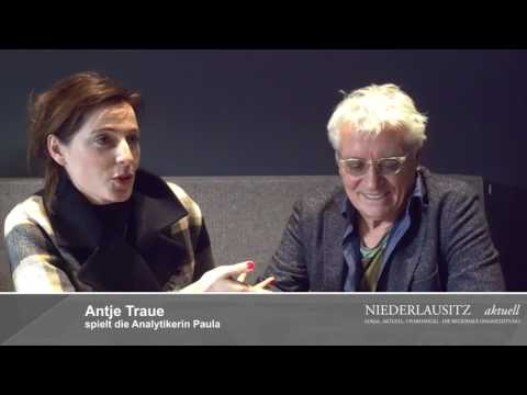 Kundschafter des Friedens. Antje Traue und Henry Hübchen im Cottbuser Weltspiegel