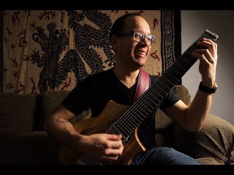 8-string guitar lesson 3: 7th chord shell voicings (drop e tuning)