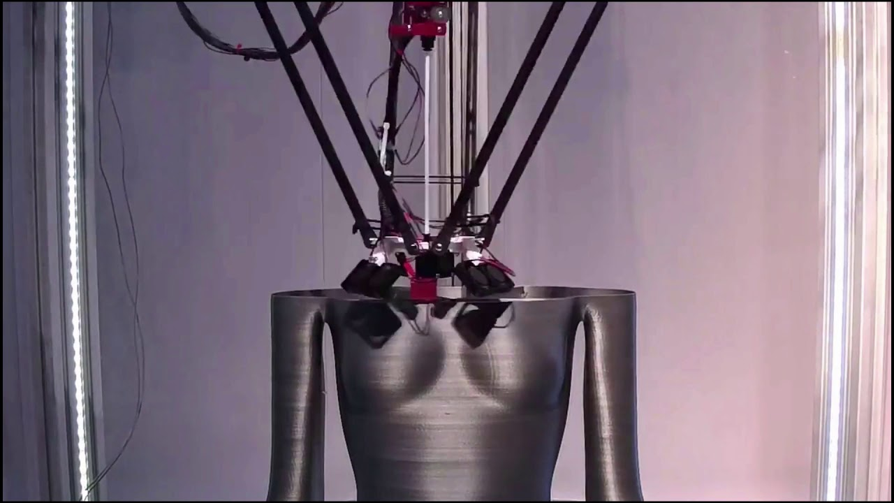 3D Printing Sculptures Reduces Costs & Production Time: From 8 weeks