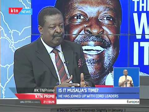 NASA Co-Principal Wycliffe Musalia Mudavadi speaks out of his candidature