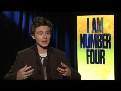 Callan McAuliffe : I Am Number Four Junket