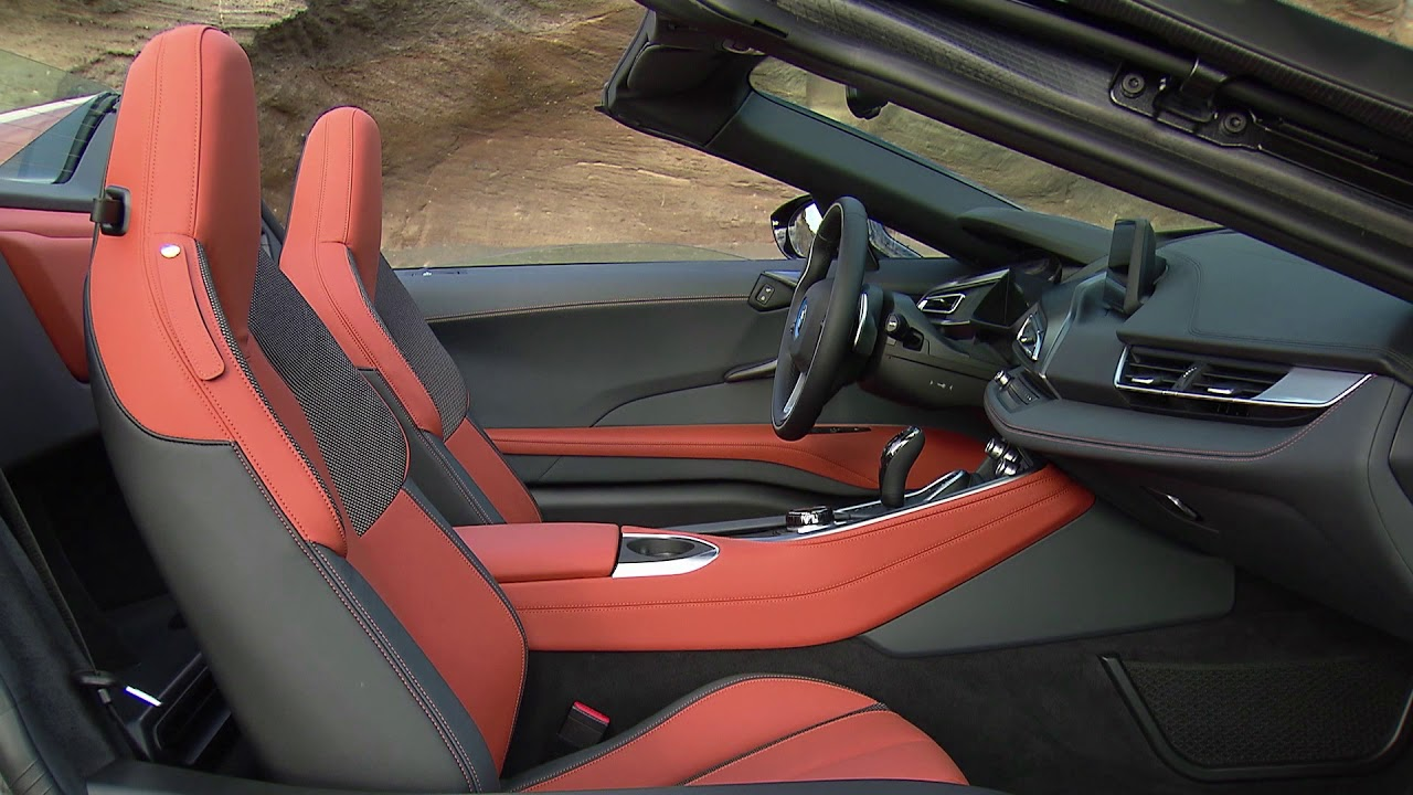 Bmw I8 Roadster Interior Youtube