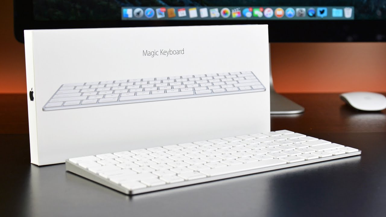 apple magic keyboard unboxing review youtube. Black Bedroom Furniture Sets. Home Design Ideas