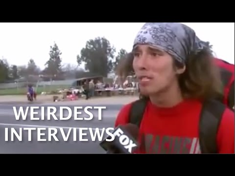 Top 8 Weirdest Interviews in Television History
