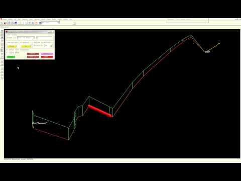 PML automatic slope adding tool for PDMS / Aveva - movie 1