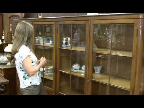 Antique china cabinet from our antiques mall at Gannon's Ant