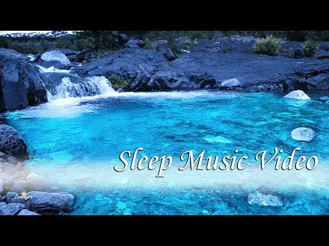 Sleep Music with Dreamy Waterfall at Night - Relaxing Music Background for Sleeping, 8 Hours Mp3
