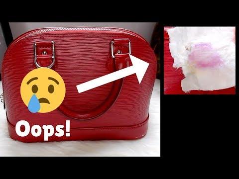 DID I RUIN MY LOUIS VUITTON BAG!?! | Epi & Saddle Soap