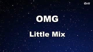 OMG - Little Mix Karaoke【With Guide Melody】