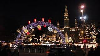Vánoční Vídeň 2018 /Christmas markets in Vienna/- Spittelberg , Rathausplatz , Prater - 28.11.2018