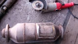 пламягаситель из катализатора через 13 тыс./км. пробега