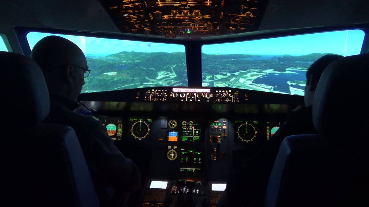 session de pilotage sur simulateur de vol airbus a320. Black Bedroom Furniture Sets. Home Design Ideas