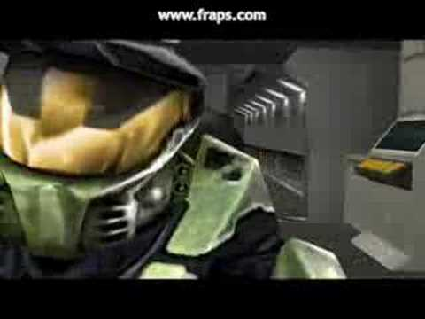 Master Chief Takes Off His Helmet