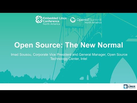 Keynote: Open Source: The New Normal - Imad Sousou