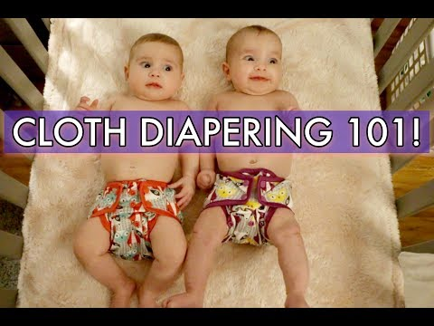 HOW WE CLOTH DIAPER + GIVEAWAY!!! - CLOTH DIAPERING 101 ///