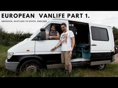We Got In Our First ACCIDENT! | Vanlife Europe Road Trip Part 1