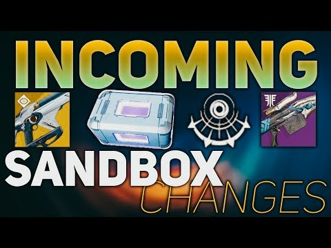 Incoming Sandbox Changes (Telesto Nerf, Sniper Buff, & Power Ammo Reduced) | Destiny 2 Black Armory