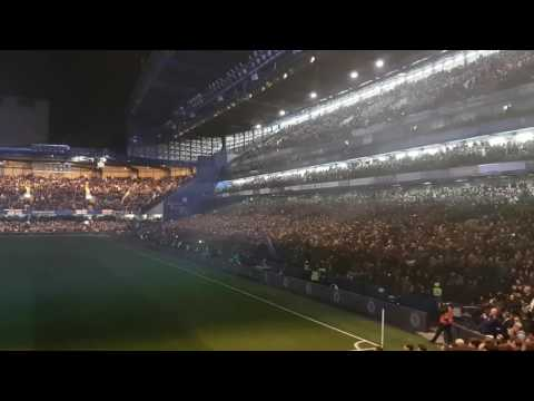 Chelsea v Spurs 26.11.2016 opening show. Great show great win.