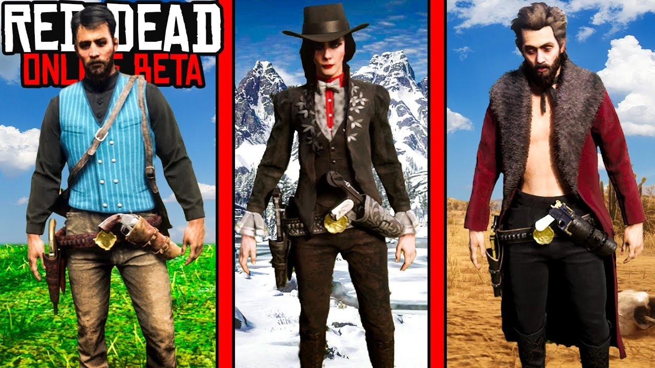 6d0f2c09a20d5 BEST OUTFITS in Red Dead Online! Red Dead Redemption 2 Outfit ...