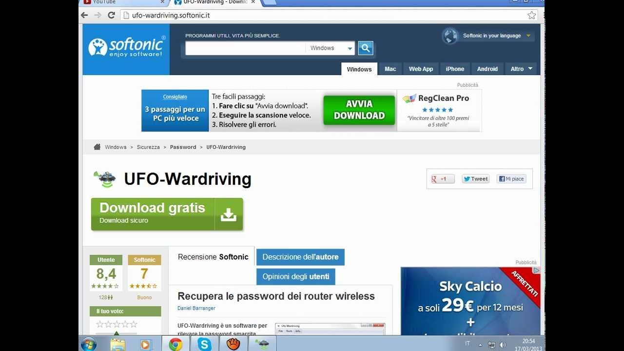ufo wardriving gratis softonic