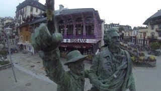 10018_Monument commémoratif en hommage à Horace Bénédict de Saussure Chamonix Mont-Blanc