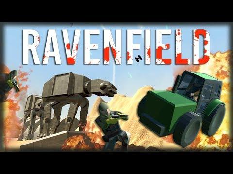 Jogando Ravenfield - STAR WARS, Bugs Transcendentais e Máquinas Agrícolas!!