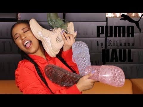 4988d591a16 Rihanna X Puma FENTY Haul