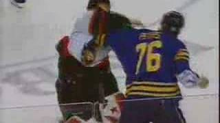 Sabres VS Senators BRAWL 2/22/07