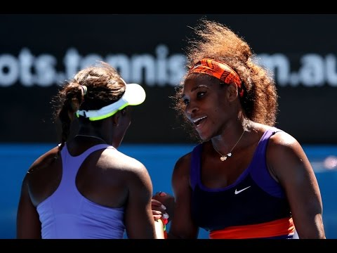 Sloane Stephens VS Serena Williams Highlight 2013 AO QF