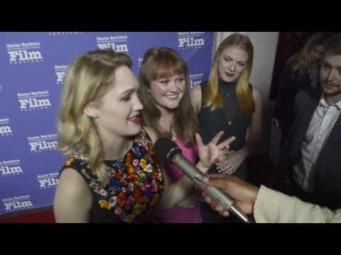 Hope Lauren, Morgan Dameron, and Sterling...