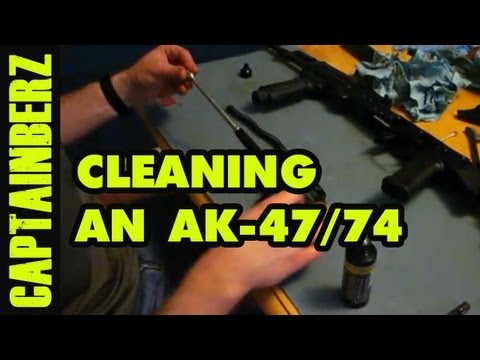 Cleaning an AK-47/AK-74 (Basic)