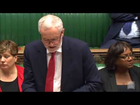 Jeremy Corbyn's response to Salisbury Incident statement